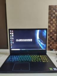 Notebook Dell G5 15 I7 9ª geração, rtx2060, tela 144hz teclado rgb