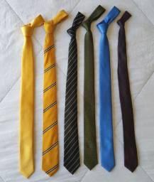 Lote gravatas Masculinas slim