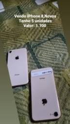 iPhone 8 Novos e Semi novos