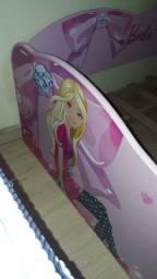 Vende-se cama da barbie fashion com colchão novos