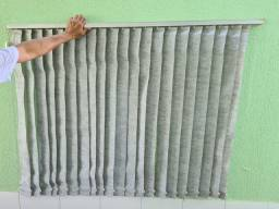 4 cortinas persianas novas