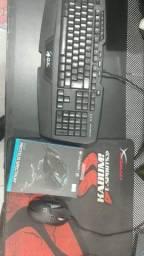 Kit mouse e teclado