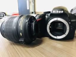 Câmera Nikon D3200 DSLR com 24.2 MP