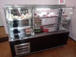 Balcões de lanchonete,padaria,confeitaria estufa e refrigerados sob medida