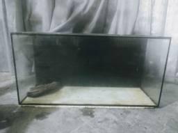 Aquário fundo preto 280 litros