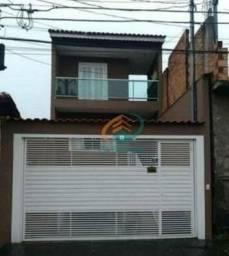 Sobrado com 4 dormitórios à venda, 370 m² por R$ 689.900,00 - Jardim São João - Guarulhos/