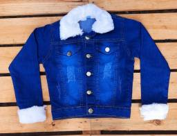 Jaqueta infantil jeans