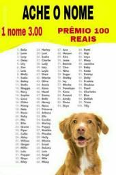 Acerte o nome e ganhe 100 reais