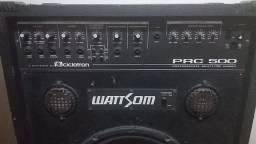 "Caixa Amplificada Multiuso Wattson/Ciclotron   PRC-500  Falante de 15 "" - Super Potente"