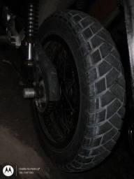 Título do anúncio: Troco jogo de aro motarde vip