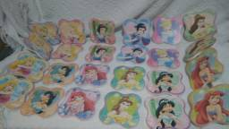 Jogo da memória princesas 24 peças eva