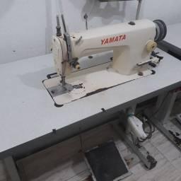 Máquina industrial reta yamata