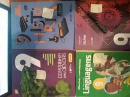 Livros 3° ano fundamental  e 9° ano fundamental