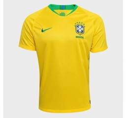 Camisa do Brasil amarela
