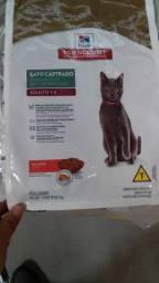 Ração Hill's Gato Castrado 3kg