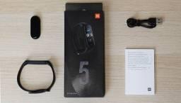 Relógio Smartwatch Xiaomi Mi Band 5 original lacrado Versão global + Pelicula + Pulseiras