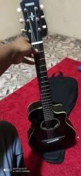 Yamaha apx t2   violão 3/4 com capitação fishiman