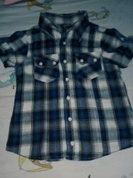 Camisa infantil tam 4 Tigor