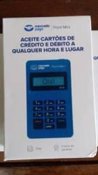 Maquinas de cartão Mercado Pago/Sem aluguel / Aceita todas a principais bandeiras