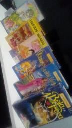 VHS - Lote Infantil (Dublado)(6 Fitas VHS)