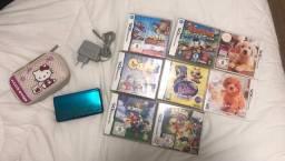 3ds Nintendo azul impecável