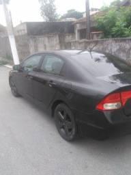 Troco ou vendo Honda Civic 2008 altomatico flex
