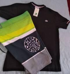 Camisas e bermudas valores na descrição abaixo
