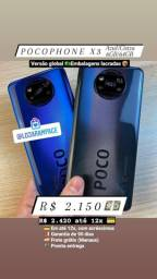 Pocophone X3 - Novo - 6GB/64GB - Loja Rampage