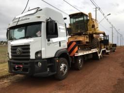 Vw 24-280 Bi-Truck Prancha Agricola + Carreta