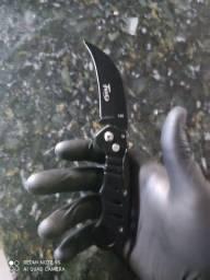 Canivete curvo tático automático!