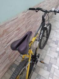 Bicicleta Caloi com Marcha Shimano