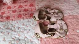 Sandália de couro Ortopé