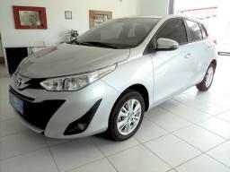 Toyota Yaris XL 1.3 Flex Aut. Prata Único Dono