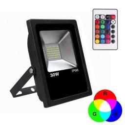Refletor RGB 30w ip 66