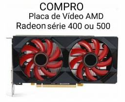 Placa de vídeo AMD Radeon