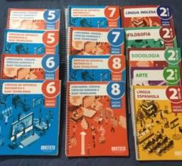 Coleção completa livros 2 ano do ensino médio colégio SESI