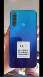 Smartphone Xiaomi Redmi Note 8 4RAM 128 GB Tela 6.3 LTE Dual Azul