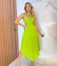 Título do anúncio: Vestido assimétrico com argola