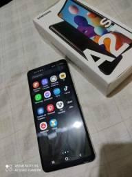 Samsung a21s 64gigas branco