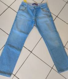 Calças jeans de marcas