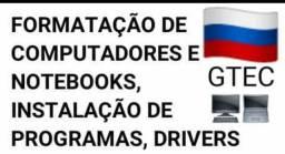 Formatação  de notebook e netbook