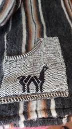 Casaco de Lã de Alpaca Peruano
