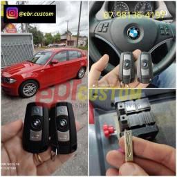 Chave slot para linha BMW
