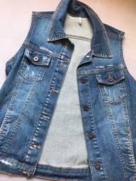 Colete jeans NUNCA USADO