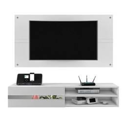 Painel Combo Sorento Glass Para TV até 50 Polegadas Borsari