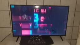 Televisão nova. Comprei em dezembro.  40 polegadas