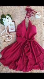 Vestido Sedinha