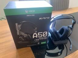 Astro A50 Preto e Gold Xbox