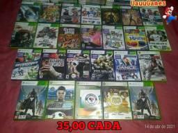 Jogos originais de xbox360 ENTREGO/PARCELO NO CARTÃO