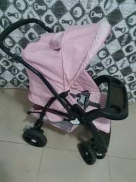 Carrinho burigotto rosa